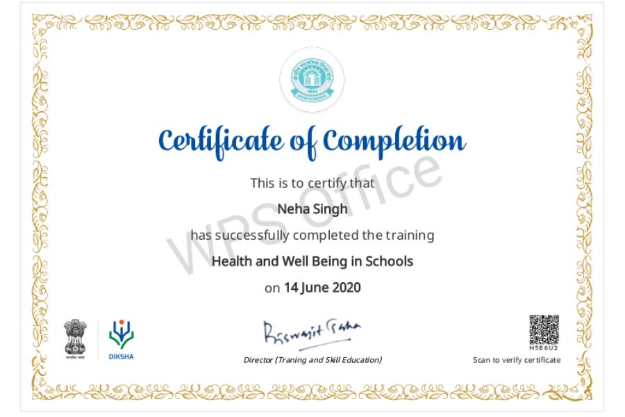 Ms. Neha Singh