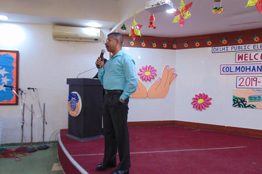 Motivational Talk By Col. Mohan Tiwari Ji