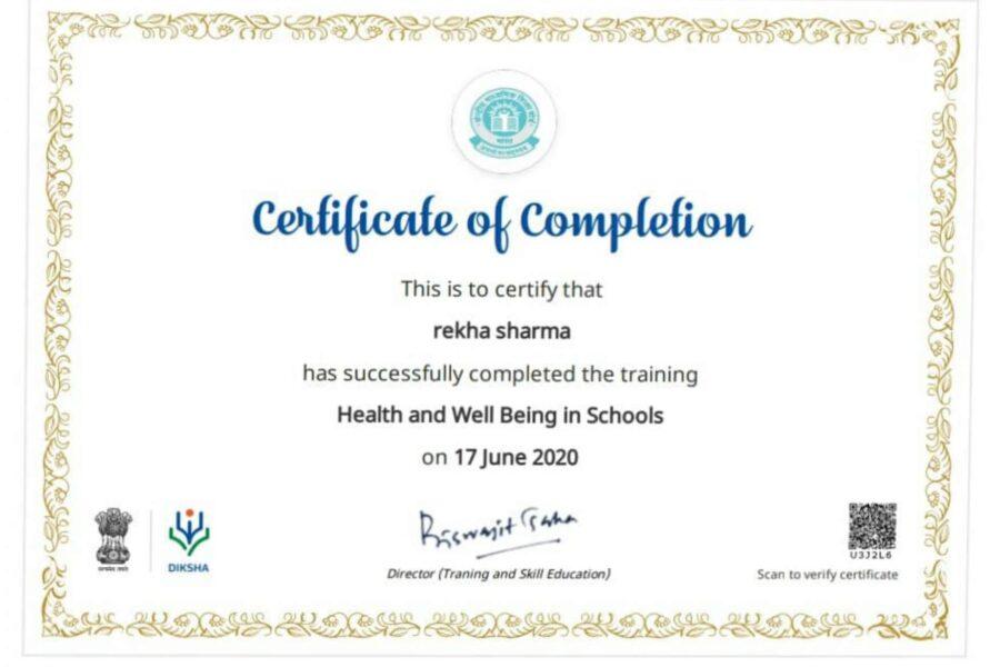 Ms. Rekha Sharma